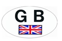 "Picture of ""GB"" STICKER"