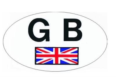 "Picture of ""GB"" STICKER"