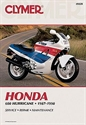 Picture of CLYMER MANUAL -  CBR600F 1987 - 1990