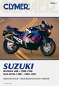 Picture of CLYMER MANUAL -  GSX600-R700/1100 1986 - 1996