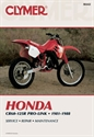 Picture of CLYMER MANUAL -  CR60-125 1981 - 1988