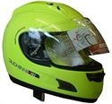 Picture of DUCHINNI D701 - 56(S) NEON YELLOW FULL FACE HELMET