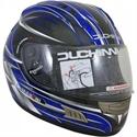 Picture of DUCHINNI D701 - 64 (XXL)  BLUE/SILVER FULL FACE HELMET
