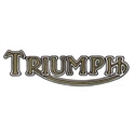 """Picture of """"TRIUMPH"""" DECAL GOLD"""