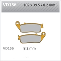 Picture of VD156 VESRAH DISC BRAKE PADS