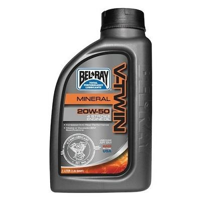 Picture of BEL RAY  V-TWIN MINERAL ENGINE OIL 20W-50 1L
