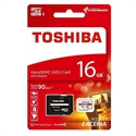 Picture of TOSHIBA MICRO SD / HC / XC 90MB 16GB MEMORY CARD WITH SD ADAPTOR